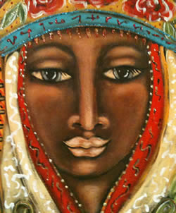 Soul Painting of the Sacred Feminine